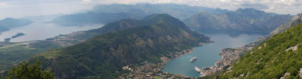 Вид на Которскую бухту