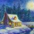 Рисуем зиму в подарок!